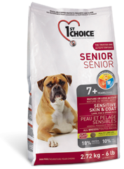 1st Choice Senior Sensitive Skin & Coat 2,72 kg